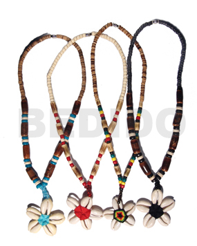 Wholesale Lot Sigay Flower Necklace