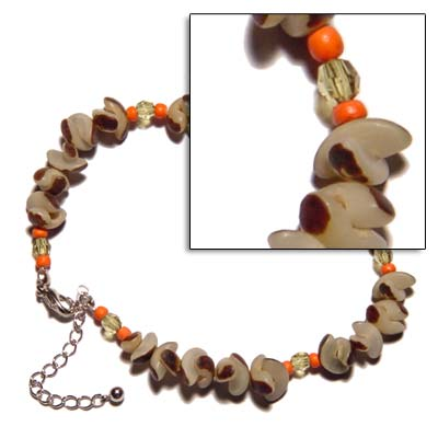 Handcrafted Buri Seed With Anklets
