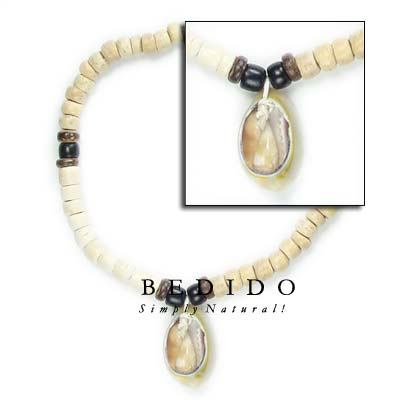 Coco Heishi With Sigay Shell Bracelets