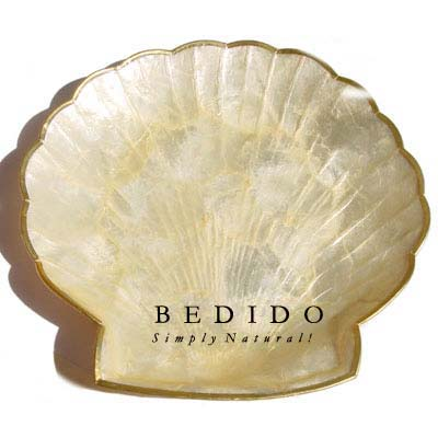 Capiz Shell Clam Shaped Gifts Sovenirs Give Away