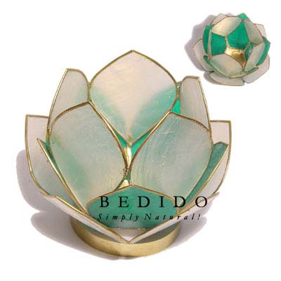 Lotus Candle Holder Green Gifts Sovenirs Give Away