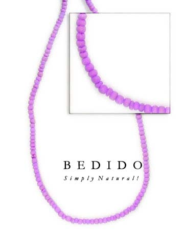 2-3mm Lavender Coco Pukalet Coco Beads Coco Necklace