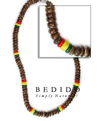 Rasta Necklace Multicolored Necklace