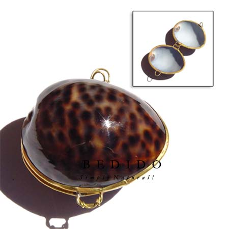 Cowrie Tiger Shell Coin Coin Purse
