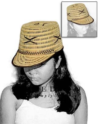 Rattan Cora Hat Natural Hats