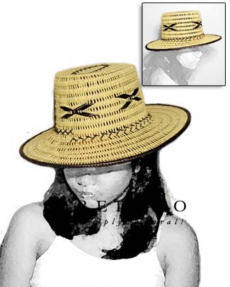 Rattan Summer Hat Natural Hats