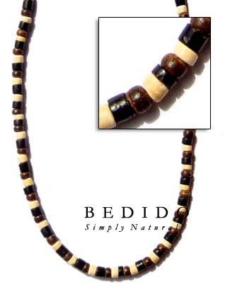 Coco Heishi Combination Necklace Natural Necklace