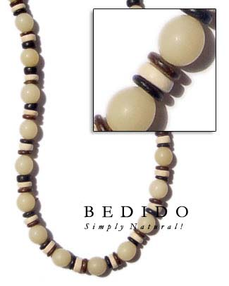 Ethnic Buri Seed And Seed Necklace
