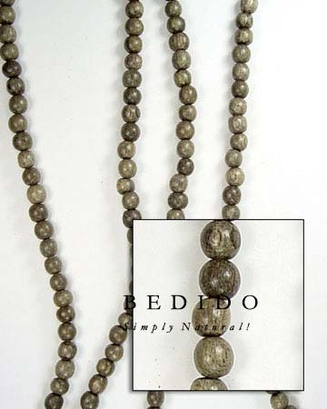 Graywood Wood Beads Wood Beads Wooden Necklace