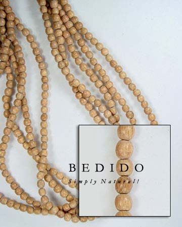 Rosewood Wood Beads Wood Beads Wooden Necklace