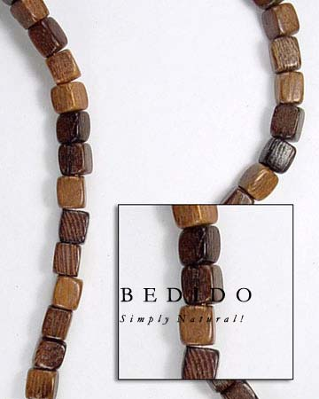 Robles Dice Wood Beads Wood Beads Wooden Necklace