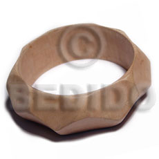 Plain Raw Natural Wooden Bangle Casing Only