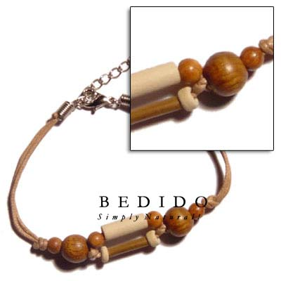 Bamboo & Wood Beads Wooden Bracelets