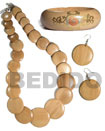 Set Jewelry Natural Wood Jewelry Set Set Jewelry Products - Cebujewelry.com